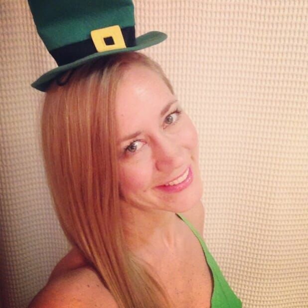 And a happy St. Patrick's Day to you!
