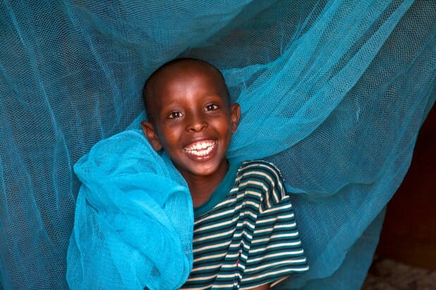 Bednets. They keep kids alive and smiling.