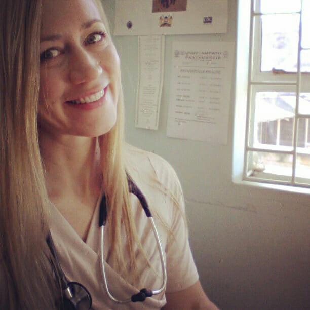 Doctor V in Clinic