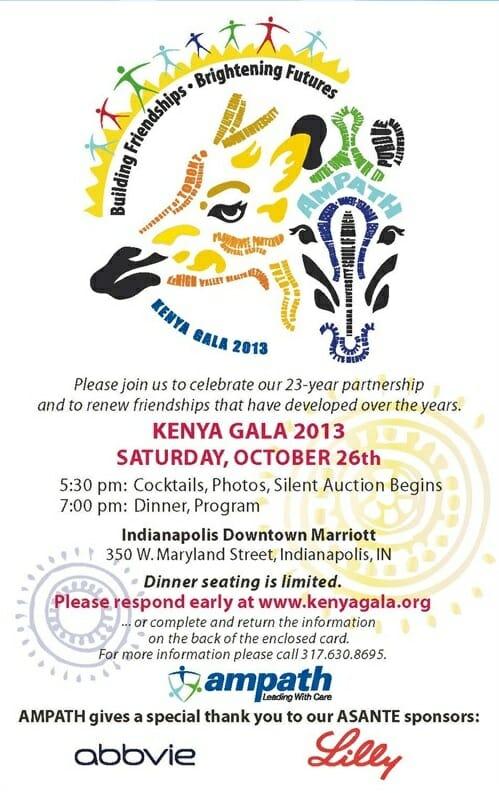 Kenya Gala 2013 Invite
