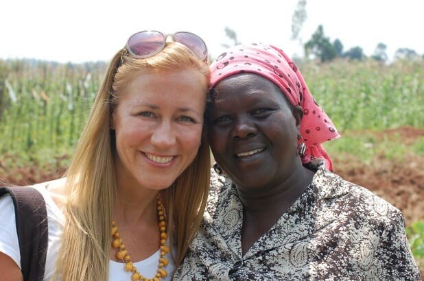 With my Kenyan mama, Rhoda, who dreamed of and fostered and runs the Samro school